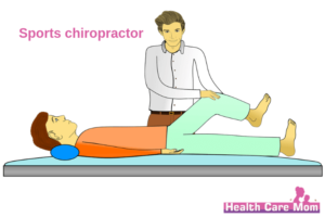 Sports chiropractor doctor