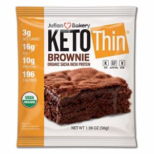 Julian Bakery Keto Thin Brownie