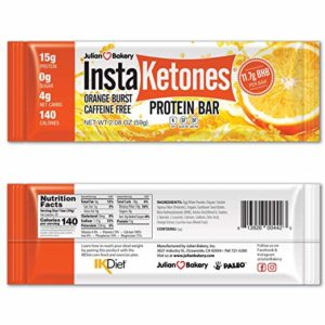 InstaKetones protein bars