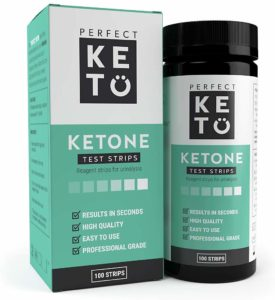 Perfect Keto Ketone Testing Strips